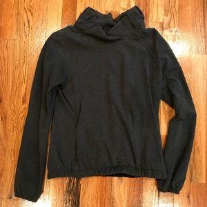 Lululemon dark grey pullover size 6